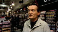 General views of HMV store Feargal Sharkey interview SOT Number of things going on / Clearly disruption going on right across the economy / Important...