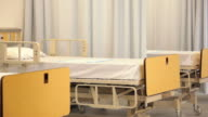 'PAN to right of empty emergency room /Richmond,Virginia, USA'