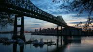 Tobin Bridge and the Boston skyline