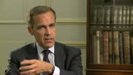 Today Mark Carney said he thought the country was starting to recover from recession but said there is still a long way to go He revealed he won't...