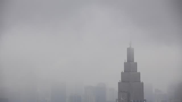 Tokyo city, rainy day