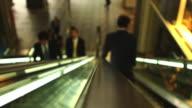 Tokyo Escalator, Stylistic Defocus
