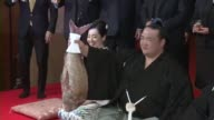 Kisenosato officially becomes the 72nd grand champion in sumo history on Jan 25 after the Japan Sumo Association finalized his promotion 'I accept...