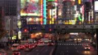 Tokyo Shinjyuku at night