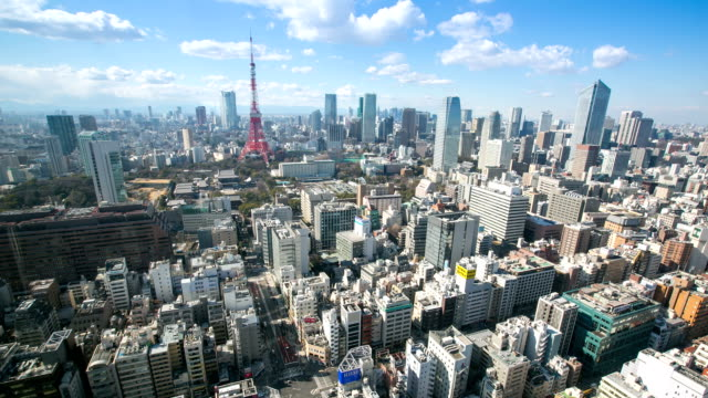 Tokyo Tower Time Lapse