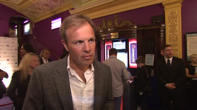 Tom Bradby on being a TV reporter and a writer at the Shadow Dancer UK Premiere at Cineworld Haymarket on August 13 2012 in London England