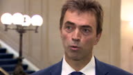 Tom Brake MP Liberal Democrat spokesperson for Brexit says that the Prime Minister is now recognising that there will be a role for the European...