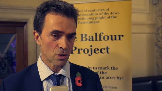 Tom Brake the Liberal Democrat lawmaker for Carshalton and Wallington speaks at an interview on Balfour Declaration in London England on November 01...