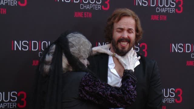 "Tom Fitzpatrick, Angus Sampson at ""Insidious: Chapter 3 ..."