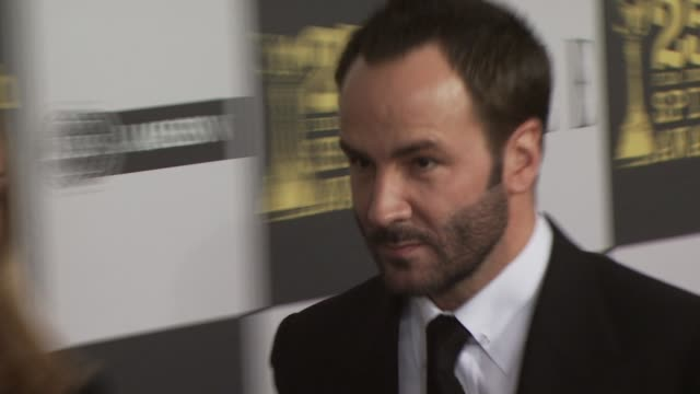 Tom Ford at the 2010 Film Independent's Spirit Awards Arrivals Part 2 at Los Angeles CA