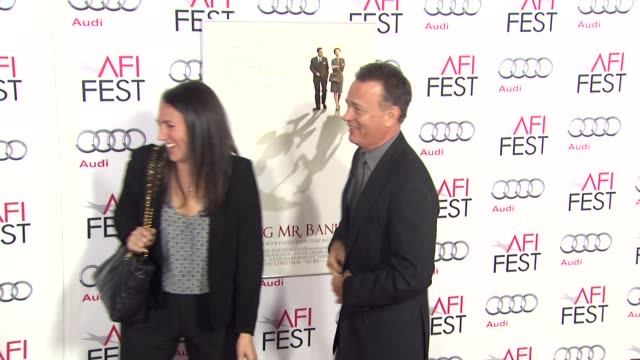 Tom Hanks at AFI Fest 2013 Opening Night Gala Premiere of Disney's 'Saving Mr Banks' in Hollywood CA on