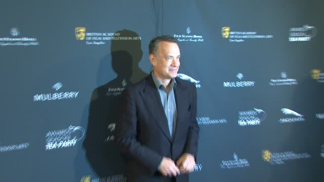 Tom Hanks at BAFTA LA 2014 Awards Season Tea Party at Four Seasons Hotel Los Angeles at Beverly Hills on in Beverly Hills California