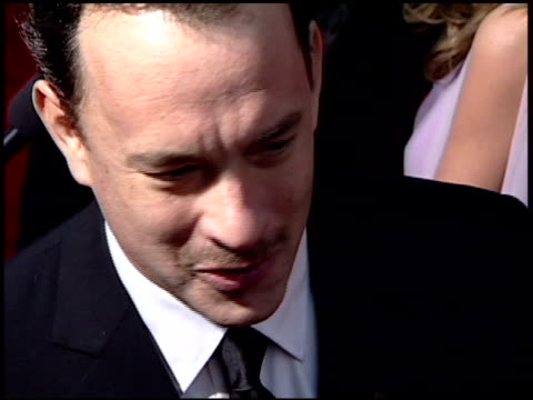 Tom Hanks at the 2001 Golden Globe Awards at the Beverly Hilton in Beverly Hills California on January 21 2001