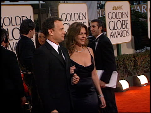 Tom Hanks at the 2002 Golden Globe Awards at the Beverly Hilton in Beverly Hills California on January 20 2002
