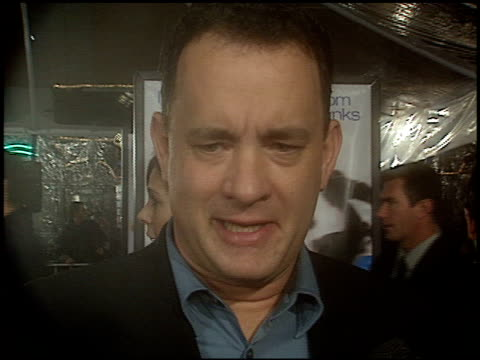 Tom Hanks at the 'Catch Me If You Can' Premiere on December 16 2002