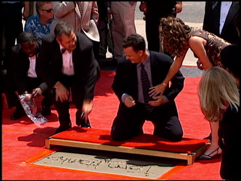 Tom Hanks at the Dedication of Tom Hanks' Footprints at Grauman's Chinese Theatre in Hollywood California on July 23 1998