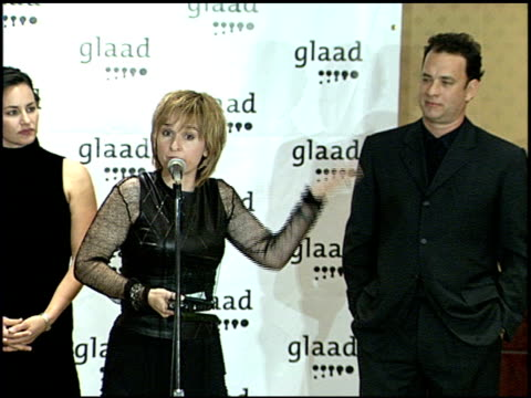 Tom Hanks at the Glaad Awards 99 at Century Plaza in Century City California on April 17 1999