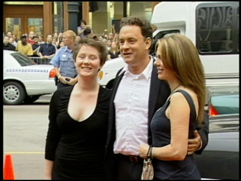 Tom Hanks at the 'Road to Perdition' Chicago Premiere on September 25 2002