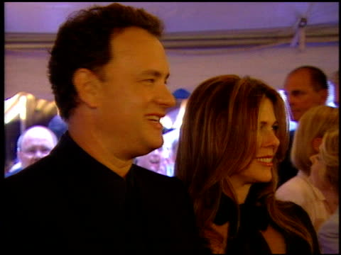 Tom Hanks at the 'Road to Perdition' New York Premiere on July 9 2002