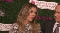 """INTERVIEW Tom Hanks Rita Wilson on chairing this event for the past 20 years talks about WCRF's fundraising at WCRF's """"An Unforgettable Evening""""..."""