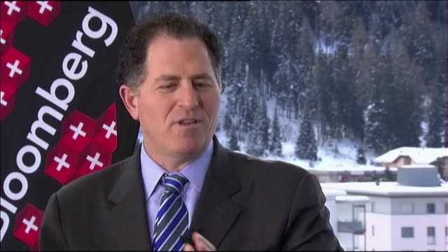 Tom Keene interviews Michael Dell in Davos Switzerland