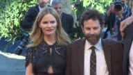 Tom Noonan Jennifer Jason Leigh Duke Johnson Charlie Kaufman at 'Anomalisa' Red Carpet 72nd Venice Film Festival at Palazzo del Cinema on September...