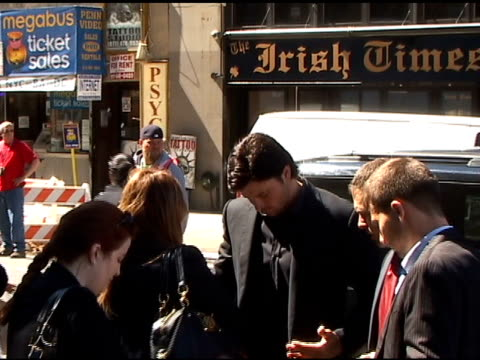 Tom Welling at Madison Square Garden in New York at the Celebrity Sightings in New York at New York NY