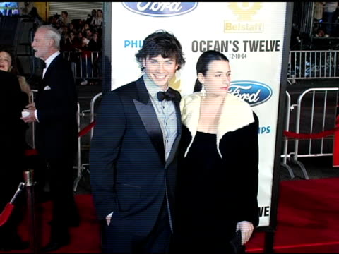 Tom Welling at the 'Ocean's Twelve' Los Angeles Premiere Arrivals at Grauman's Chinese Theatre in Hollywood California on December 8 2004