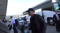 Tom Welling departing at LAX Airport in Los Angeles in Celebrity Sightings in Los Angeles