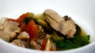 Tom Yum Suppe, Thai Spicy Chicken Soup, Top Thai Lieblingsessen