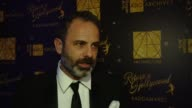 Tommaso Ortino on what it means to be here tonight at 21st Annual Art Directors Guild Excellence In Production Design Awards at The Ray Dolby...