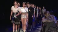 Tommy Hilfiger showed off his latest collection at New York Fashion Week on Monday