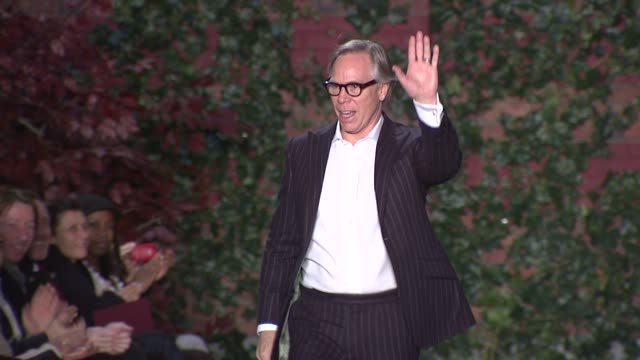 Tommy Hilfiger walks the runway after Tommy Hilfiger Fall 2012 collection during MercedesBenz Fashion Week Fall 2012 on in New York NY