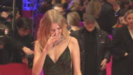 Toni Garrn at 'Hail Caesar' Opening Ceremony Red Carpet 66th Berlin International Film Festival at Grand Hyatt Hotel on February 11 2016 in Berlin...