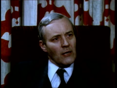 Tony Benn archive ITN LIB Location Unknown TCMS Tony Benn MP intvwd SOF Won't allow oil companies to manipulate oil supplies to benefit their own...