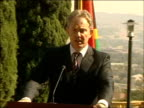 Tony Blair and Thabo Mbeki press conference And though it is correct that the number of conflicts has reduced in Africa those conflicts that are...