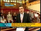 ITV News Special PAB 1242 1300 West Midlands Birmingham Steve Scott Reporter to camera Anna Aston interview SOT