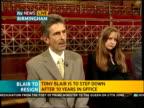 ITV News Special PAB 1242 1300 West Midlands Birmingham Keys interview SOT Scott to camera / Stewart LIVE STUDIO in London