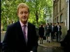 Tony Blair asked to pay school fees London EXT i/c