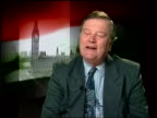 Tony Blair diplomacy ITN Ken Clarke MP interviewed SOT They keep using rather strange terms of phrase Ross Cranston MP interviewed SOT The government...