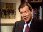 Tony Blair on late payment/ John Major on education CS Ian Lang intvw SOT the only real difference between what Mr Blair has said today what we've...