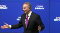 Tony Blair saying that it is a free country and people can choose to listen to him or not regarding his thoughts on Brexit which he believes is a...