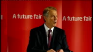 Tony Blair speech at Trimdon Labour Club Thirteen years of power has seen its share of bad times and good for the people and for the government...