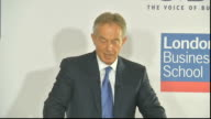 Tony Blair speech to the CBI Tony Blair speech SOT The key to winning the battle for Britain's future within Europe is to win the battle for the...