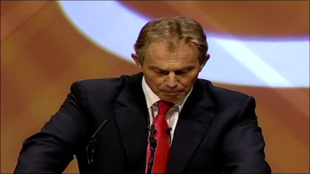 Tony Blair TUC conference speech You can hold up your posters about troops out but the reasons troops are in is because the democratic government of...
