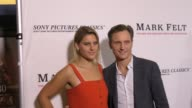 Tony Goldwyn and Anna MuskyGoldwyn at the Premiere Of Sony Pictures Classics' 'Mark Felt The Man Who Brought Down The White House' on September 26...