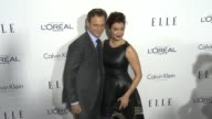 Tony Goldwyn and Bellamy Young at the 2015 ELLE Women in Hollywood Awards at Four Seasons Hotel Los Angeles at Beverly Hills on October 19 2015 in...