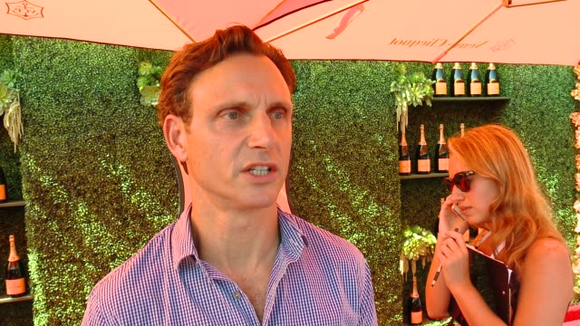 INTERVIEW Tony Goldwyn on being at the event on 'Scandal' and on Scott Foley at the FifthAnnual Veuve Clicquot Polo Classic Los Angeles at Will...