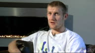 Tony Jeffries interview Jeffries interview SOT On why he chose Dennis Hobson as his promoter / Thought Frank Warren was gentleman and gave good offer...