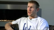 Tony Jeffries interview Jeffries interview SOT Would have turned professional sooner after Olympics but was waiting for contract from ABA Jeffries...
